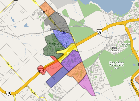 Neighborhoods of Kanata
